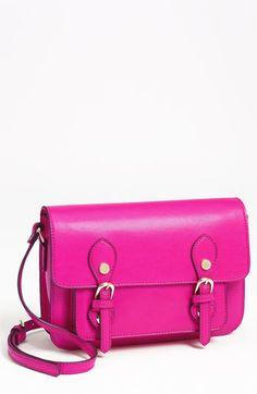 Neon pink satchel bag!