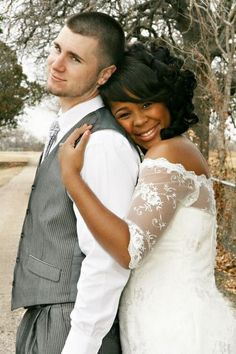 cool whiteguy with hot blackgirl wedding #Love #WMBW #BWWM Find your #InterracialMatch Here interracial-dating-sites.com  https://plus.google.com/u/1/+CarolineMarieJ
