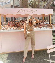 "kate // katelyn nicole on Instagram: ""we love a free people bakery moment - @revolve @revolvebeauty #revolveinbloom 💗🌸"""