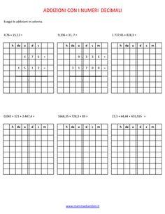 Addizioni-2014 Montessori, Classroom Ideas, Periodic Table, Education, Tecnologia, Periodic Table Chart, Periotic Table, Classroom Setup, Onderwijs