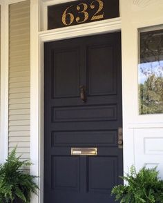 Need a porch update? Paint your front door like this one we did awhile back. Dress up those porch details before the holidays. Exterior Paint, Paint Ideas, Tall Cabinet Storage, Porch, Design Inspiration, Holidays, Outdoor Decor, Instagram Posts, Dress