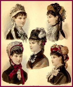 1879women's  hats
