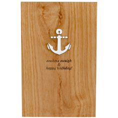 Cute wooden cards
