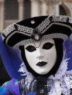 Silver ribbon.  Venice Carnival 2015 by Lesley McGibbon