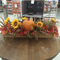 For a long Harvest table...Love this one!