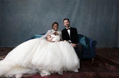 В сети появились свадебные фотографии Серены Уильямс и Алексиса Оганяна