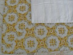 Terrisol Blue Yellow Amp White French Country Fabric
