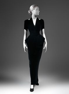 Evening dress by Charles James, 1937. The Met.