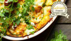 Parmigiana di patate e zucchine in padella
