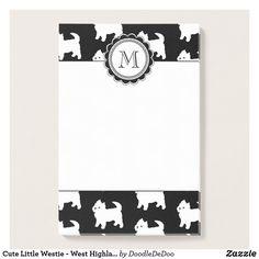 Leuk Weinig Westie - het Hoogland Witte Terriers Post-it® Notes