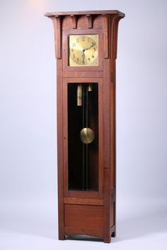 colonial Clock.Zealand .grandfather..case-#1182          Works..Kaiser #19443.