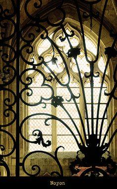 iron work window