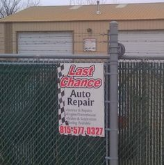 Last Chance Auto Repair has been offering our automotive repair service to Plainfield, IL, plus all surrounding suburbs since 1978. You brake it, we fix it, domestic plus foreign vehicles a-z. What kind of auto service are you due for? Don't worry we have you covered. https://www.facebook.com/LastChanceAutoRepair #AutoService #CarServiceShop #VehicleService #LastChance