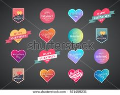 Stock Vector: Happy Valentines Day Vector Card Set. illustration of a heart. http://www.shutterstock.com/pic-571459231/stock-vector-happy-valentines-day-vector-card-set-illustration-of-a-heart.html?src=gallery_feed  #abstract #art #baby #background #banner #beautiful #bouquet #box #bride #calligraphic #card #cartoon #celebration #chocolate #congratulation #cupid #cute #day #decoration #decorative #design #font #gift #girl #graphic #greeting #happy #headline #heart #holiday #icon