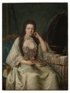 Femme à sa toilette  Guillaume Voiriot  peintre ; Paris, v. 1760