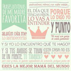 Día de las madres | 10 de mayo | frases célebres de las madres | diseño póster