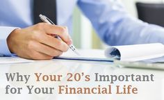 The fact of the matter is that people in their 20's have time on their side. The 20's therefore, becomes the most critical period of their lives, to maximize and plan for future financial success. It would not be a very wise decision to let the golden 10 years pass by in over using your credit cards and living in the moment.