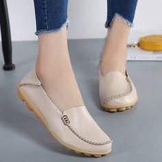 282c7d48ca9 VenusCelia Women s Natural Comfort Walking Flat Loafer