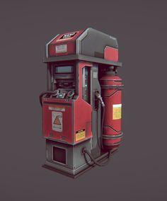 ArtStation - Props for the UE4 Game, Aleksandr Kolyada