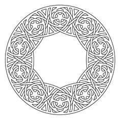 Celtic knot-work lute rosette by Peter Mulkers
