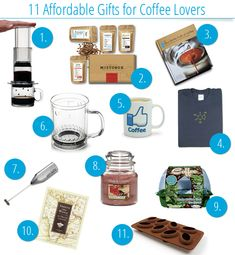 11 Affordable Gifts for Coffee Lovers
