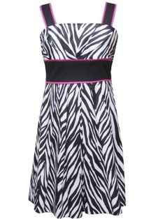 74e5a5b4a01 Shop for Girls Zebra Print Dress by Rare Editions at ShopStyle.
