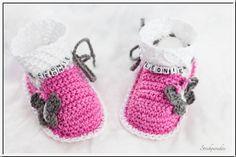 Strickparadies - Babyschuhe mit Namen _017
