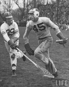 Lacrosse game between Johns Hopkins and Virginia (1952)