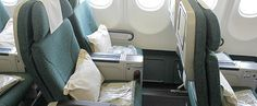Cathay Pacific premium economy class on my flight to Perth Australia.  Read Laura Berg's travel review.