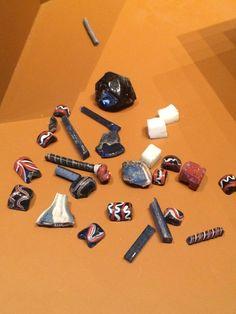 Viking beads, Ribe museum