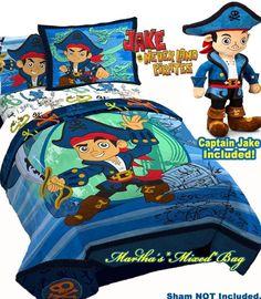 Wyatt\'s Jake and the Neverland Pirates bedroom | Wyatt | Bedroom ...