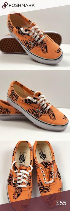 Shop Men s Vans Orange Black size 11 Sneakers at a discounted price at  Poshmark. Description  VANS Era Logo Mix Tangerine Black Sneakers Size  Men s  11 Sold ... 861728ce4