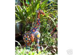 Huichol art jirafe