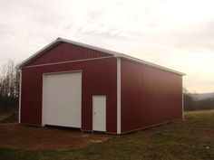 """Building Dimensions: 30' W x 40' L x 14' 5"""" H (ID# 299)  Visit: http://pioneerpolebuildings.com/portfolio/project/30-w-x-40-l-x-14-5-h-id-299-total-cost-17298  Like Us on Facebook! www.facebook.com/... Call: 888-448-2505 for any questions!"""