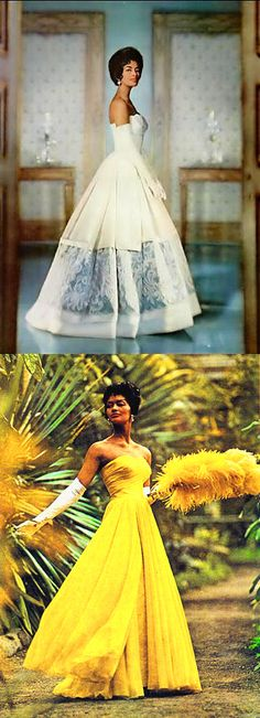 Helen Willians - Repinned from Vintage Black Beauty History.  What an amazing collection of African American contributions to history, fashion, education, entertainment, medicine, science and ALL American Society and Culture