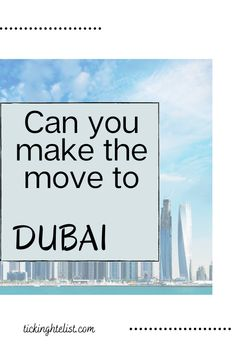 There is always so much to think about before moving to a new country, here are 18 things you need to know before moving to Dubai