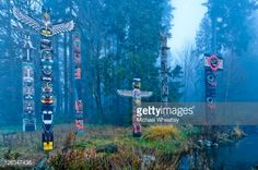 ... Culture,No People,Outdoors,Photography,Scenics,Stanley Park - Vancouver - Canada,Totem Pole,Tourism,Travel,Travel Destinations,Tree,Tribal Art,Vancouver ...