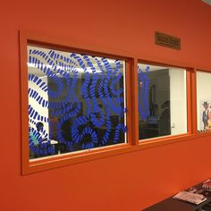 Progress shot of Sarah's installation. #jocomakes #makerinresidence