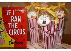 Parties for the little ones... If I Ran the Circus Dr. #Seuss Party