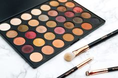 REVIEW & SWATCHES: Morphe 35F Palette