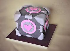Cakepunk   Portal Companion Cube