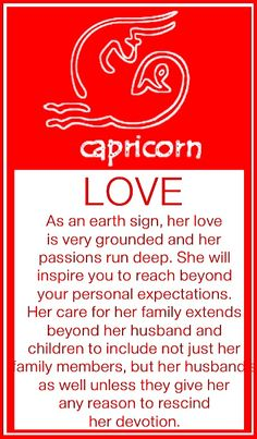 Capricorn Women - Love