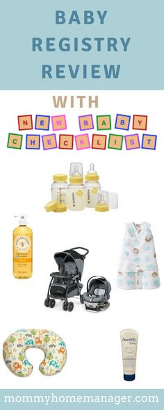 New Baby Checklist and What to Include in Your Baby Registry – Mommy: Home Manager New Baby Checklist, Baby Registry Checklist, Baby Design, Pregnancy Magazine, Raspberry Leaf Tea, Getting Ready For Baby, Thing 1, Baby Massage, First Time Moms