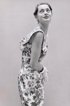 "indypendentstyles: "" Christian Dior, 1955 """