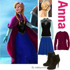 Disney Inspirations- Anna from Frozen