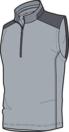 5a4666dfacd Nike Golf DriFit 12Zip Vest LT MAGNET GREYDARK GREYMETALLIC SILVER S      Check this