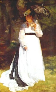 Lise with Umbrella - Pierre-Auguste Renoir