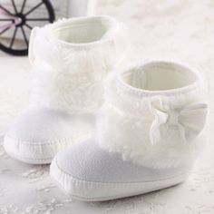 Newborn Baby Girl Bowknot Fleece Snow Boots Booties Kids Princess White Winter Shoes #>=#>=#>=#>=#> Click on the pin to check out discount price, color, size, shipping, etc. Save and like it!