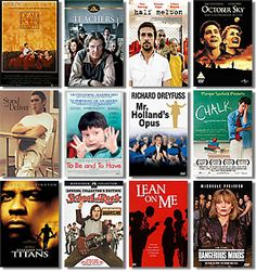 Top 12 Must See Teacher Movies   TeachHUB  (AT LEAST three of the honorable mentions deserved a spot on this list over a *certain* choice, but a great  list nonetheless. Sad to see that The Ron Clark Story and Front of the Class did not get mentions.)