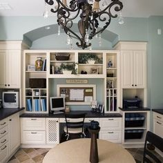 Family Room Craft Room Design, Pictures, Remodel, Decor and Ideas